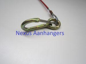 Breekkabel met ring lang 1200 mm