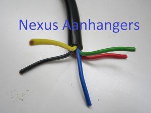 Aanhangwagen kabel 5 x 1.5