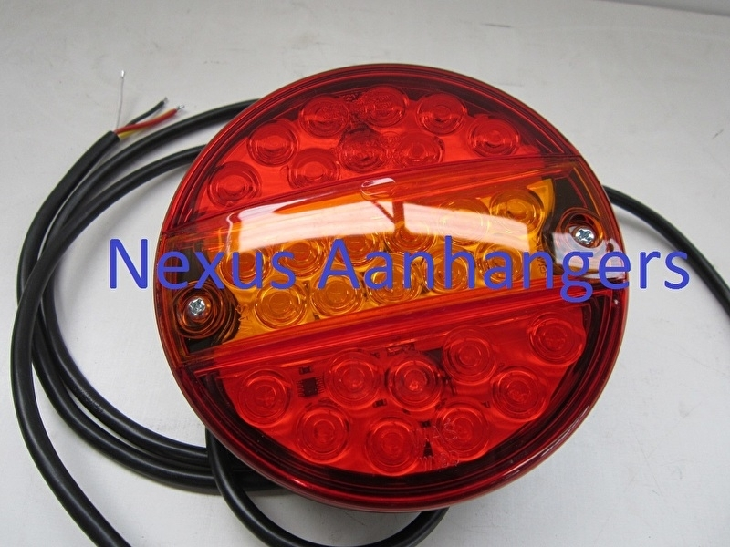 Achterlicht Hamburger LED 12/24V - Nexus Aanhangers
