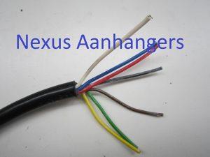Aanhangwagen Kabel 7 x 0.75