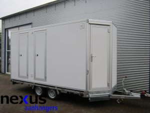 Deco-unit voorzijde gesloten aanhangwagen