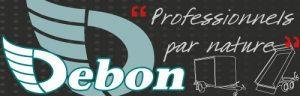 logo Debon aanhangwagen - Nexus aanhangers